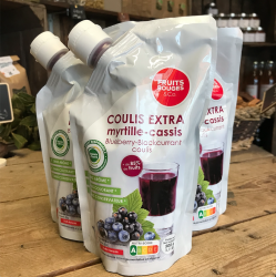 Coulis Myrtille/Cassis